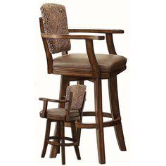 "ECI Furniture Trafalgar Square 30"" Tapestry Bar Stool"