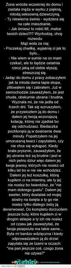 Stylowi.pl - Odkrywaj, kolekcjonuj, kupuj Weekend Humor, Text Memes, Young Living Essential Oils, Funny Stories, Wtf Funny, Einstein, Best Quotes, Haha, Funny Pictures