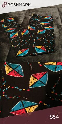 TC Go fly a kite Kite leggings! How fun!!✈ LuLaRoe Pants Leggings