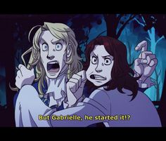 Lestat and Armand, as usual.