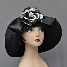 Kentucky Derby Hat Garden Party Couture by MakowskyMillinery