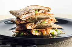 The Ultimate Pizza Quesadillas from Skinny Mom | Skinny Mom | Where Moms Get the Skinny on Healthy Living