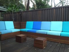 """Melinda says: """"Thank you for your amazing efficiency and superb communication on the making of my cushions. I received them on Tuesday and they are fabulous. The quality and workmanship is superior and I wouldn't hesitate to recommend you to anyone. From the moment I called with my quirky requirement, to when the cushions arrived, your friendly assistance and professionalism was delightful. #outdoorcushions"""