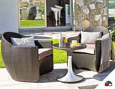 un juego de terraza ideal para disfrutar de la primavera sodimac homecenter per