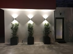 New Exterior Wall Design Ideas Porches Ideas Garden Wall Designs, Garden Design, Exterior Wall Design, Exterior Wall Light, Modern Exterior Lighting, Landscape Lighting Design, Building A Pergola, Walled Garden, Landscape Walls