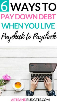 How To Pay Down Debt Quickly and Save Money - Arts and Budgets - Finance tips, saving money, budgeting planner Pay Debt, Debt Payoff, Budget App, Budget Planner, Budget Chart, Budgeting Finances, Budgeting Tips, Ways To Save Money, Money Saving Tips