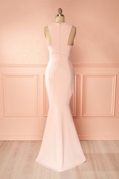 Camila Aube Light Pink Mermaid Gown | Boudoir 1861