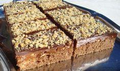 Jednoduché a hlavně rychlé oříškové řezy plné čokolády. Pokud máte rádi ořechy, toto je ta správná volba na sladkou dobrotu po skvělém, vydatném obědě.