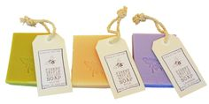 Hanging Soap Slabs on a Rope 80g - minibee