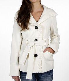 Daytrip Ruffle Coat - Women's Outerwear | Buckle