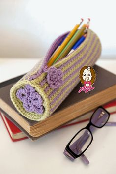 pencil case for the little girls who are now going to school