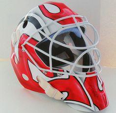 MTL316 Goalie Mask Collector  #olympic #teamcanada #mask #goalie #custom #hockey www.MTL316.com
