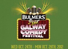 Galway Comedy Festival October 24th till the 29th See www.Galway.com for more Comedy Festival, Art Festival, Oyster Festival, Early Music, Event Calendar, Festivals, Art For Kids, October, Events