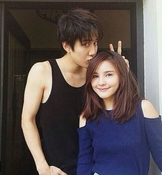 Aomike goes to korea Full House Thai, Brother Sister Photos, Mike D Angelo, Itazura Na Kiss, Aaron Yan, Drama Fever, Ulzzang Couple, Korean Actors, Korean Dramas