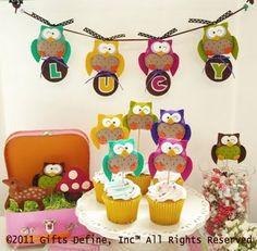 i want an owl-y birthday party!