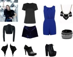 """Outfit inspired by SNSD's Hyoyeon in """"The Boys"""""""