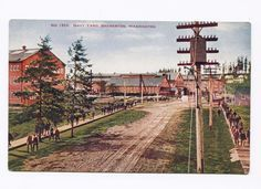 ( Workers at the US Navy Ship Yard Bremerton Washington Postcard Vintage Postcards, Vintage Photos, Bremerton Washington, Snoqualmie Falls, Us Navy Ships, Railroad Tracks, Worlds Largest, Country Roads, Yard