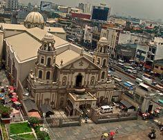 Quiapo Church in Manila, Philippines