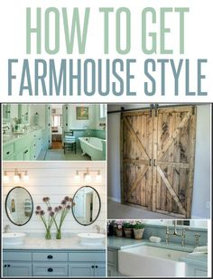 5 Ways to Get the Farmhouse Look