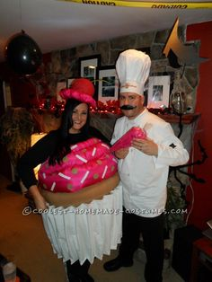 Cupcake & her Pastry Chef