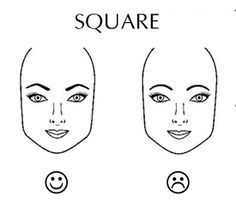 awesome tips: the shape your brow should/shouldn't be...based on your face shape!