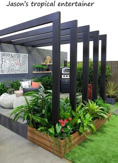 41 Ideas small backyard patio design fit for 2019 Small Backyard Landscaping, Small Patio, Landscaping Ideas, Patio Ideas, Mulch Landscaping, Pool Ideas, Backyard Ideas, Inexpensive Landscaping, Backyard Layout