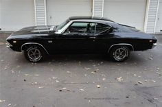 AutoTrader Classics - 1969 Chevrolet Chevelle Coupe Black Manual | Muscle & Pony Cars | St James, NY