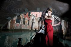 Lady in red Fernando Silva Winter 2011 venice - italy