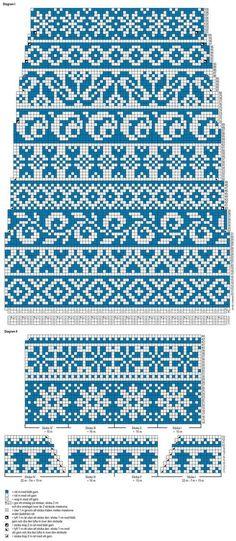 24 New Ideas knitting mittens fair isle inspiration Fair Isle Knitting Patterns, Fair Isle Pattern, Knitting Charts, Loom Knitting, Knitting Stitches, Knitting Socks, Free Knitting, Fair Isle Chart, Fair Isles