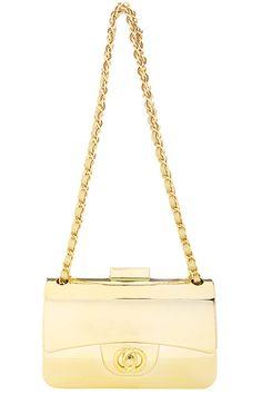 ROMWE   ROMWE Bag-liked Riche Péquenaud Gold Bag, The Latest Street Fashion