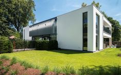 GO – Schellen Architecten Facade, House Plans, Garage Doors, Shed, Exterior, Outdoor Structures, Outdoor Decor, Design, Home Decor