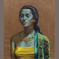 (n/a) Vladimir Tretchikoff (South African, The Balinese girl Canvas Art, Canvas Prints, Framed Prints, South African Artists, Balinese, Art Reproductions, Figurative Art, Art Girl, Fine Art Prints