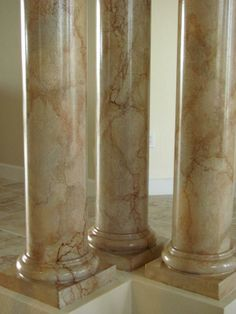 1000 Images About Faux Marble On Pinterest Columns