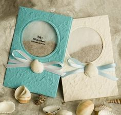 Beach Favors Flower Seed Cards $3.19
