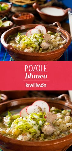 Discover recipes, home ideas, style inspiration and other ideas to try. Italian Recipes, Mexican Food Recipes, Ethnic Recipes, Pozole Recipe Pork, How To Make Pozole, Pork Recipes, Crockpot Recipes, Green Pozole, Good Food