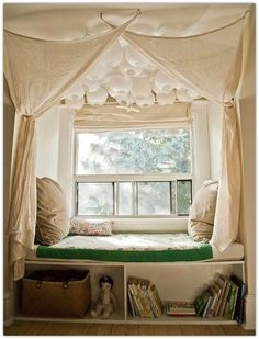 Cozy Window Seat Nooks