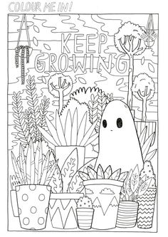 THE SAD GHOST CLUB BLOG Coloring BooksColouringFacebook