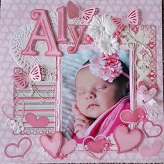 #papercrafting #scrapbooking #layout -