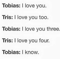 haha smooth Tobias smoothh!!! I love this trilogy!!!!!!!! Im officially obsessed!!!!!!! :-) :-) :-)