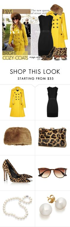 """""""Wardrobe Staple: Bright and Cozy Coats- Pipa Middleton"""" by enjoyzworld ❤ liked on Polyvore featuring Orla Kiely, Whistles, Topshop, 2b bebe, Gianvito Rossi, J.Crew, StreetStyle, contest and brightcoat"""