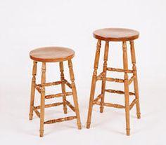 bar stool oak barstools solid wood barstools stools furniture Cherry