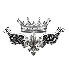 Tattoo Trends – … shoulder tattoo design of Fleur De Lis with Crown. by KristinaPgv - awesome Tattoo Trends – … shoulder tattoo design of Fleur De Lis with Crown. by KristinaPgv - Unique Tattoos, Cute Tattoos, Body Art Tattoos, Small Tattoos, Tattoos For Guys, Sleeve Tattoos, Faith Tattoos, Chest Piece Tattoos, Heart Tattoos