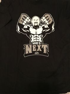 New Bill Goldberg Who's Next T-Shirt Pro Wrestling WWF WWE WCW XXL Brock Lesnar - http://bestsellerlist.co.uk/new-bill-goldberg-whos-next-t-shirt-pro-wrestling-wwf-wwe-wcw-xxl-brock-lesnar/