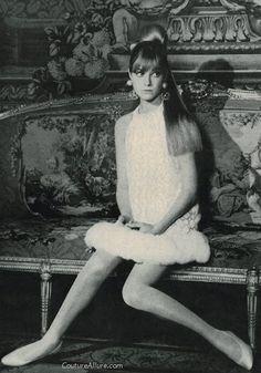John Bates party dress, 1966.  #vintage