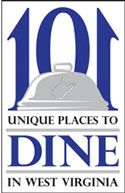 101 Unique Places to Dine in West Virginia. I'm very upset that Tudors biscuit world did not make this list! It's a MUST when I'm in wv