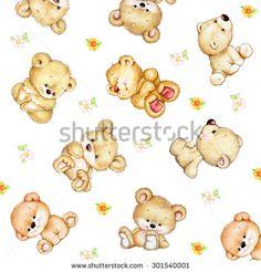 Set of Teddy bears