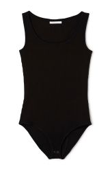 <p>The Odele body has aslim fit, a deep boat-neck in frontandan opening at the crotch with a two button closure.It is made froma soft and stretchy cottonjersey and has a finely ribbed finish.</p><p>- Size Small measures 76 cm in chest circumference,65 cm in waist circumference and 78 cm in seat circumference.<br /></p>