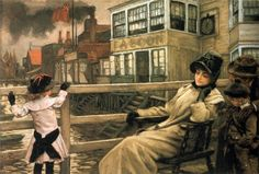 Too Early - James Tissot - WikiPaintings.org