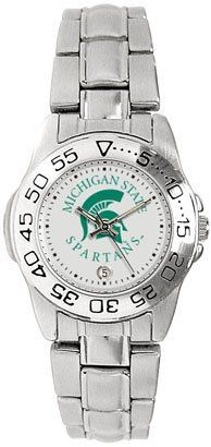 Michigan State University Spartans Ladies Sports Steel Watch by SunTime. $49.95
