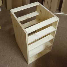 Great DIY 4 Drawer Cabinet With Easy Install Drawer Runners Completed Frame